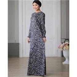 Платье базовое (принт)